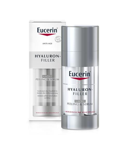 Eucerin Hyaluron-Filler Nachtpeeling & Serum
