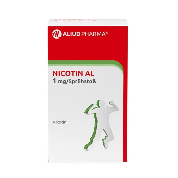 Nicotin AL 1 mg / Sprühstoß